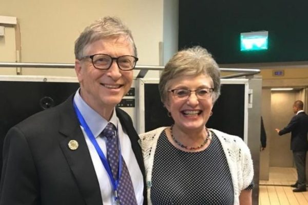 In Addis Ababa with Bill Gates
