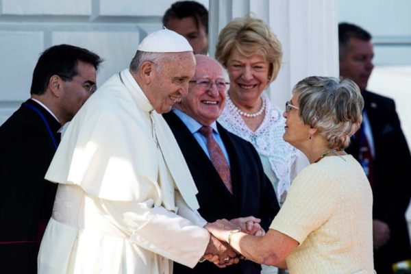 Katherine Zappone meets the Pope and President of Ireland
