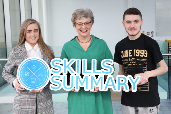 Skills summary online tool launch